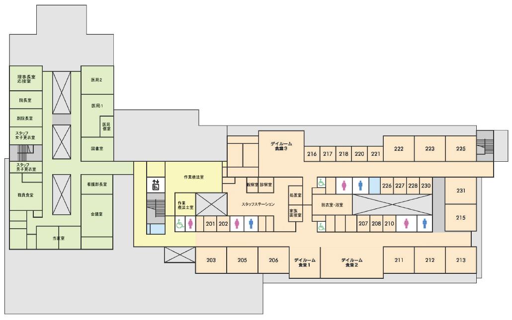 2病棟(2階)
